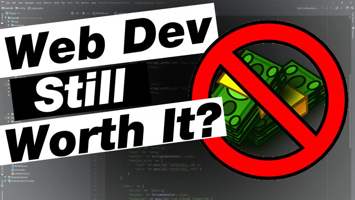 Are Sitebuilders and WordPress Going to Kill Web Develpment?